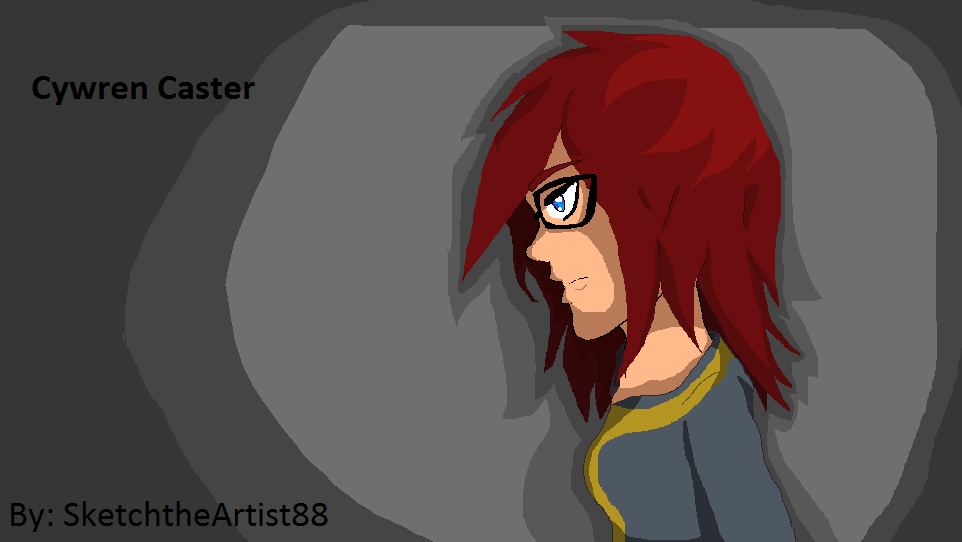 Cywren Caster for Venturiantale :D by SketchtheArtist88