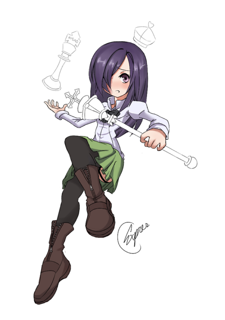 Hanako's Checkmate by Expressionize