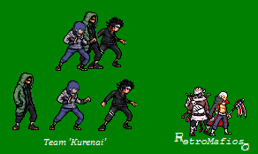 Team Kurenai Sprites -SND by RetroMafioso