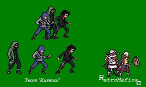 Team Kurenai Sprites -SND by RetroMafioso