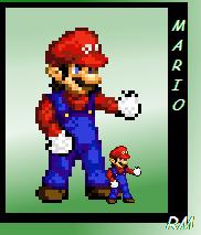 Mario Sprite by RetroMafioso