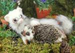 Forest Friendship - Heidi Riker Poseable Creatures