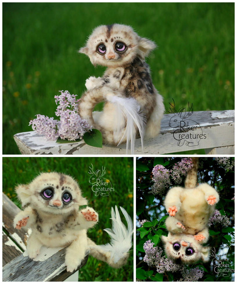Fantasy Creature Doll - Speckled Pik-Pik by RikerCreatures