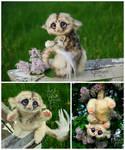 Fantasy Creature Doll - Speckled Pik-Pik