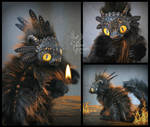 Ember the Baby Fire Dragon - Fantasy Creature