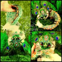 Baby Fantasy Dragon - Poseable Fantasy Creature by RikerCreatures