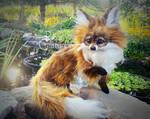 Jenna Green Eyed Fox