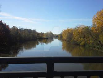 October Noon River