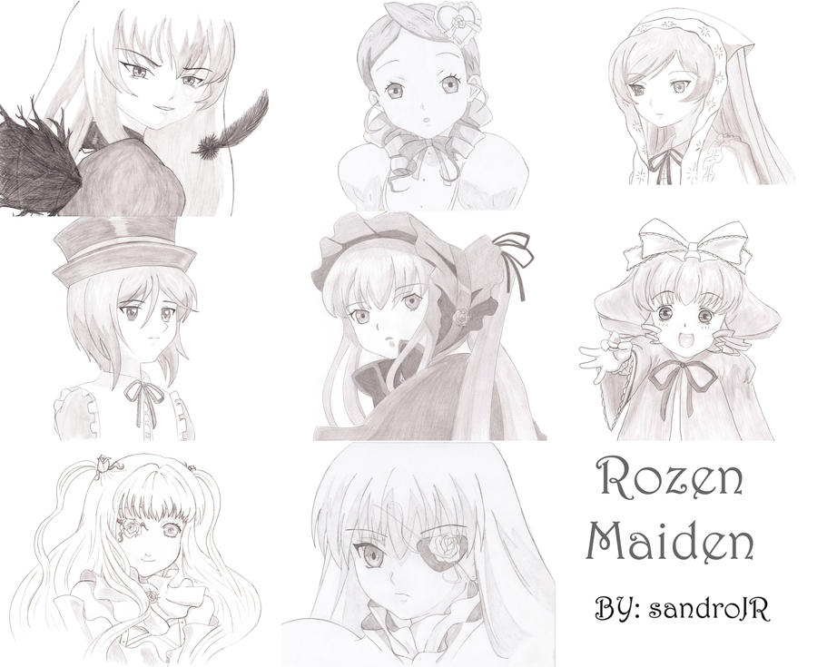 rozen maiden colection by sandroJR