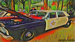 Andy Taylor's Patrol Car (Picasso Style)