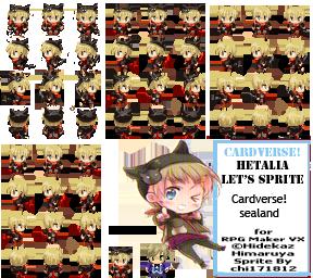 Cardverse Hetalia Rpg Maker Sealand Sprite By Chi171812