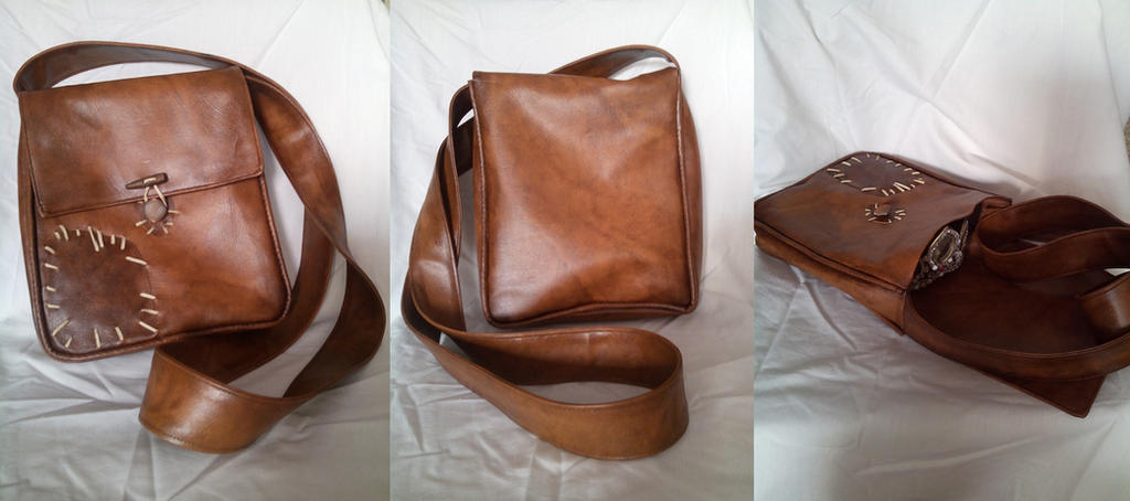 Flynn Rider Satchel by JuliaGranger