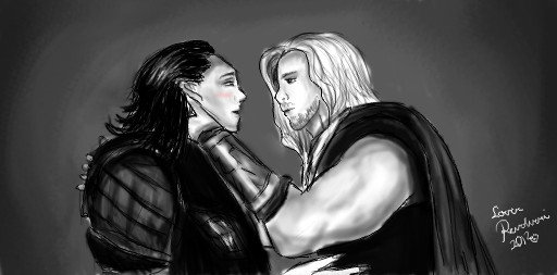 Loki, give me a kiss... by LoverRevolveri