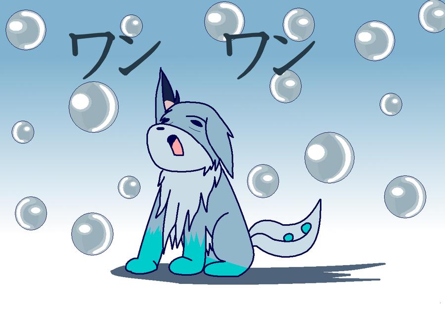 Wolf Doodle by wambulenceman