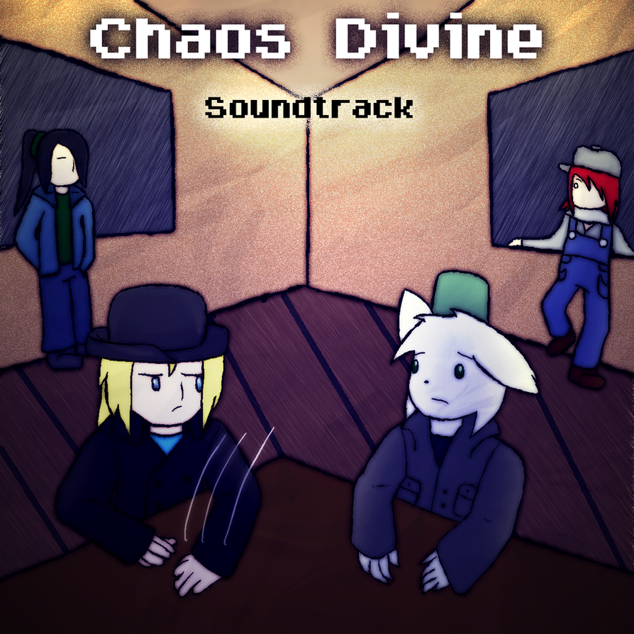 Chaos Divine Album Cover by wambulenceman