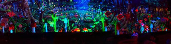 3d Deco Digital Rainforest by storm-warning