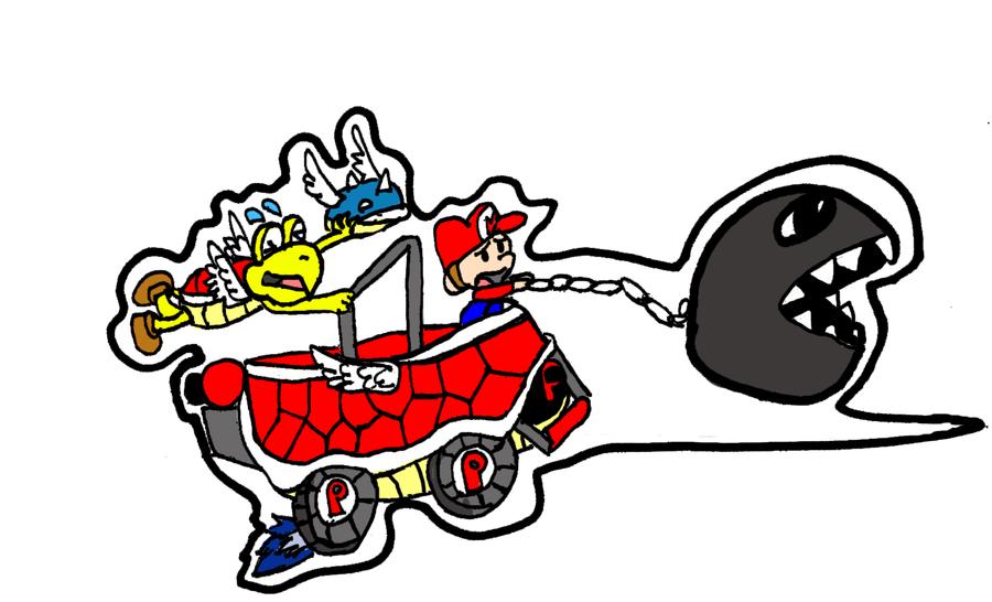 Image - Baby Mario (Mario Kart Wii).jpg - The Mario Kart ...  |Baby Mario And Baby Luigi Mario Kart Double Dash