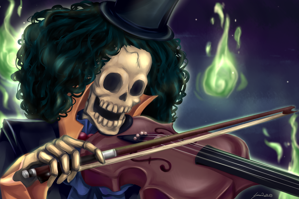 Brook ( One Piece ) by Y3ssi on DeviantArt