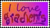 I love Gradients Stamp by xVanyx
