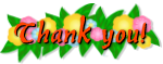 Thank you! with Flowers by xVanyx