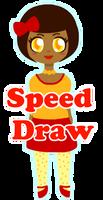 Littla Ava Speed Draw by xVanyx