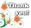 Thank You! Flower Message