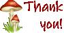 Mushroom Thank you! Message by xVanyx