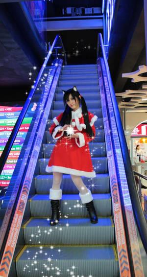 Azusa Nakano Christmas version by IsisBlueFire 6