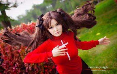Tohsaka Rin by IsisBlueFire 8