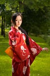 Yukata girl by Isis Blue Fire 7