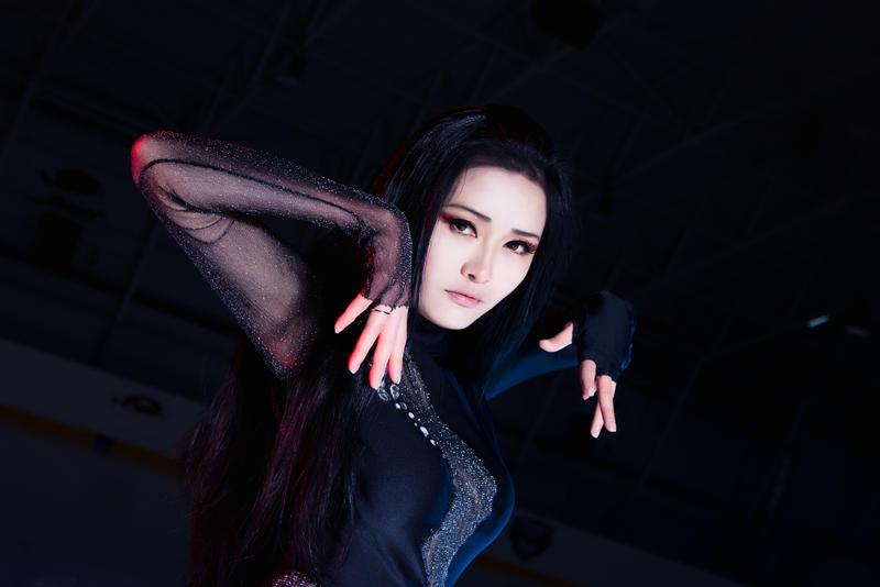 Fem.Yuri Katsuki by IsisBlueFire 1 by IsisBlueFire