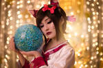 Dynasty Ahri by Isis Blue Fire 9
