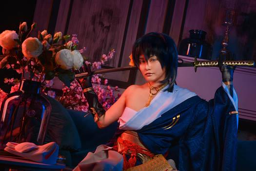 Mikazuki Munechika by Isis Blue Fire 16
