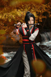 Wei Wuxian by Isis Blue Fire 1