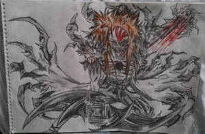 Ichigo Hollow Form by joereynolds