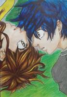 Futaba and Kou - Ao Haru Ride by joereynolds