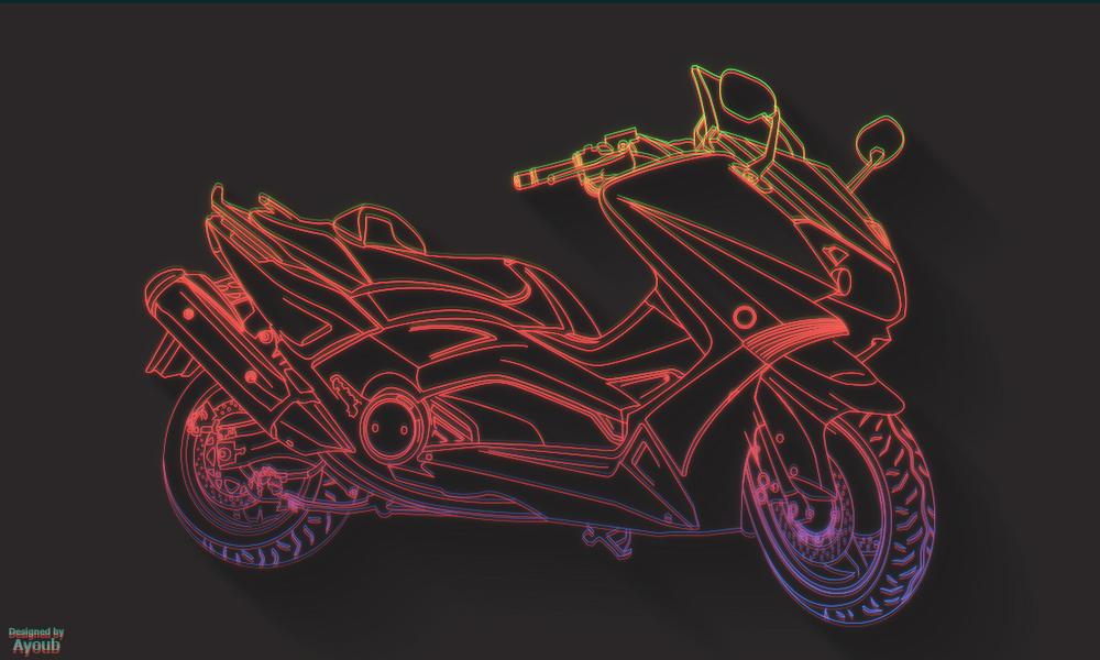 Yamaha Tmax Version 2 by Ayoubesc
