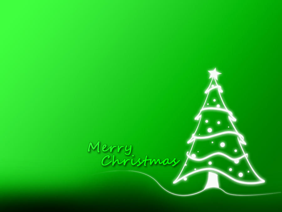 Christmas Wallpaper Green By EpiclyAlice