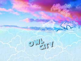 Alligator Sky Wallpaper by EpiclyAlice