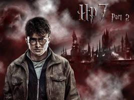HP7 Harry Wallpaper by EpiclyAlice