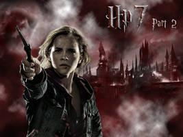 HP7 Hermione Wallpaper by EpiclyAlice