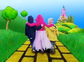 Children's Fantasy Wallpaper by EpiclyAlice