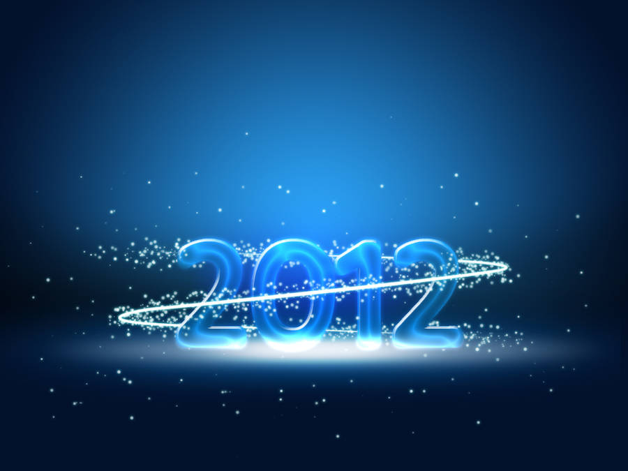 2012 New Years Wallpaper by EpiclyAlice