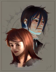 Sebastian and Ms Lionsdale by Spin-T