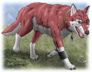 Baltro : Walking Red Wolf