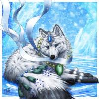 Beautiful Wolf by SheltieWolf