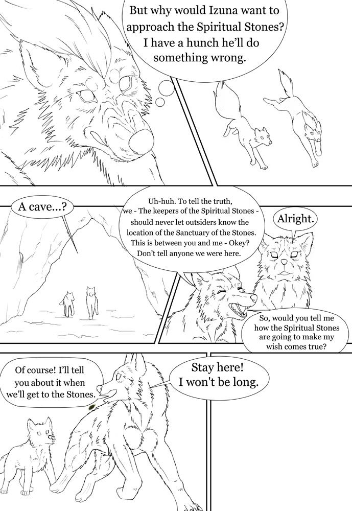 Page29 sketch by SheltieWolf