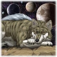 Male Wolf by SheltieWolf