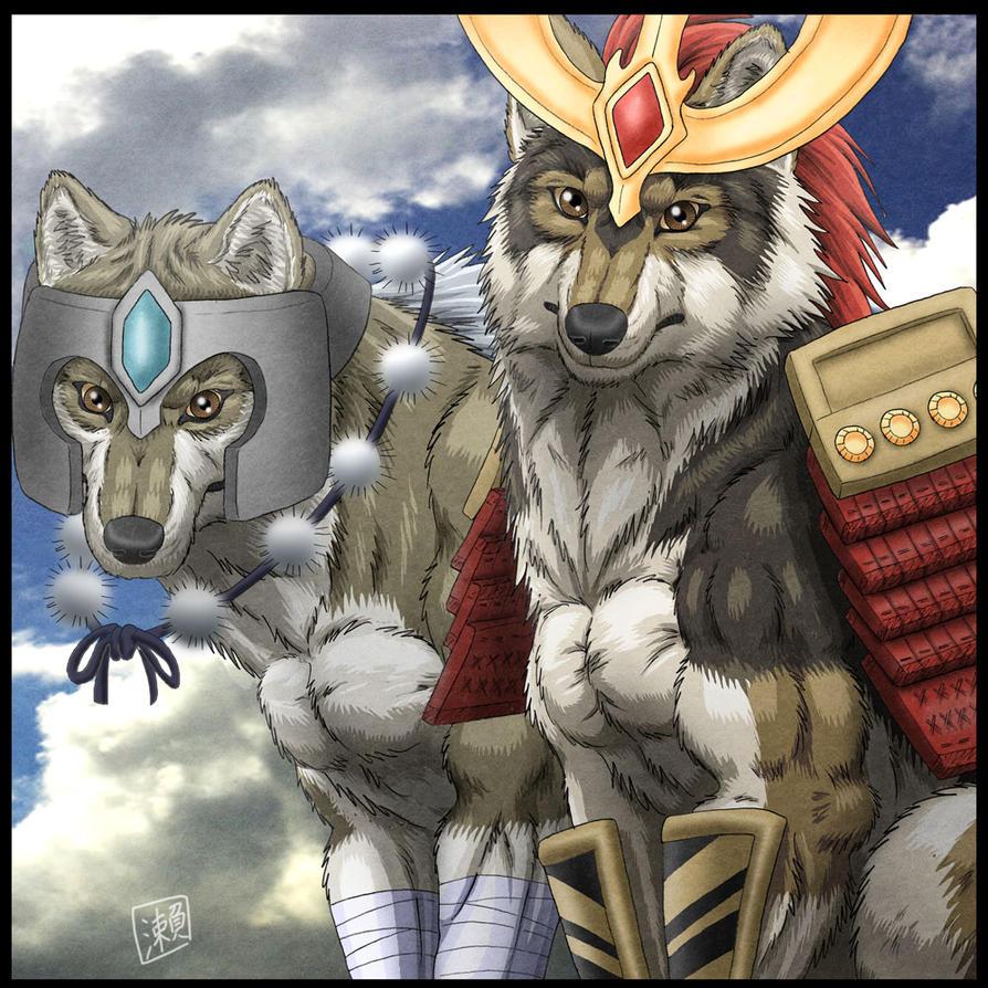 Wolf Samurai by SheltieWolf