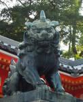 Japanese Gardian Komainu